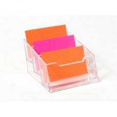 Business Card Holder - 3 Pocket