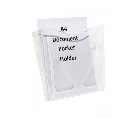 A4 Wall Document Pocket Holder