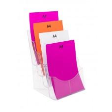 A4 Brochure Stand - 4 Pocket