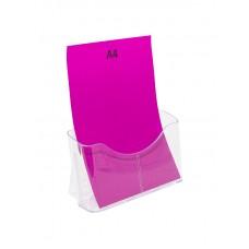 A4 Brochure Holder Stand - 1 Pocket