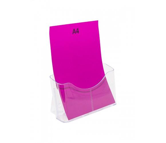 Single Pocket A4 Brochure Holder Stand