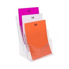 A4 Brochure Holder - 3 Pocket
