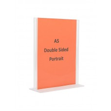 A5 Double Sided Sign Holder
