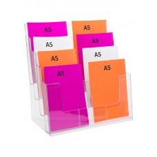 A5 Brochure Holder - 8 Pocket
