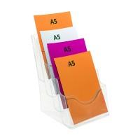 A5 Four Pocket Brochure Holder