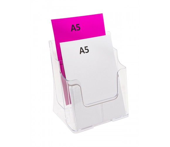 Two Tier A5 Brochure Holder