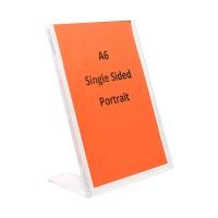 A6 Sign Holder - L Shape