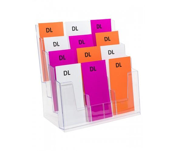 DL Brochure Holder - 12 Pocket