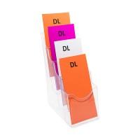 DL Brochure Holder - 4 Pocket
