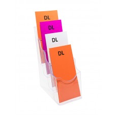 DL Brochure Holder - 4 Pocket